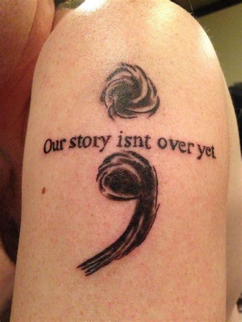 tattoo quotes for mental illness semi colon on shoulder cute semicolon tattoo design