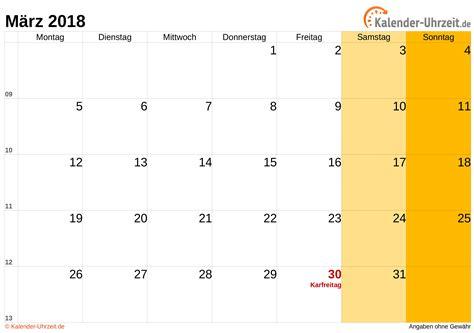 m 228 rz 2018 kalender mit feiertagen