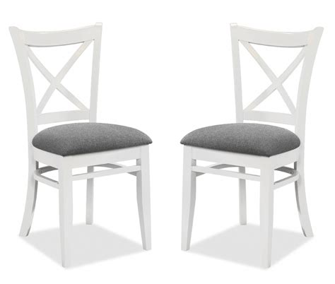 chaise en bois blanc 2 chaises gandhi bois blanc assise gris chaise topkoo