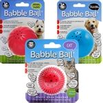 pet qwerks animal sounds babble ball review blind dog toys