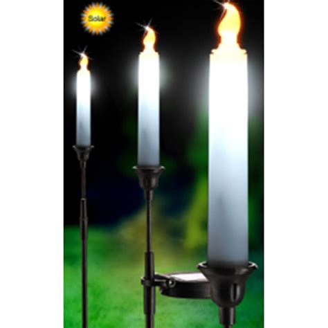 solar powered candle lights ebay