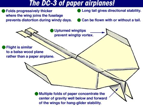 How To Make Best Paper Airplane For Distance - cool paper airplanes