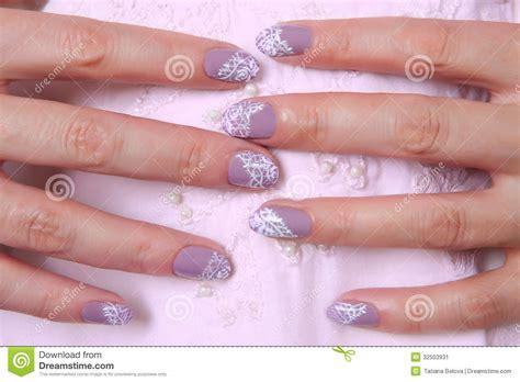 Handmade Nail Designs - nail design stock image image of pattern