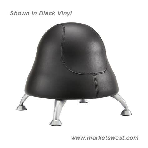 Runtz Chair by Runtz Chair 12 Quot Diameter X 17 Quot High Black Vinyl