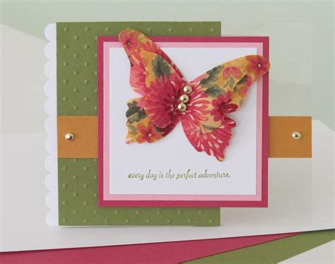 Butterfly Gift Card - today s card features the stin up beautiful butterflies die