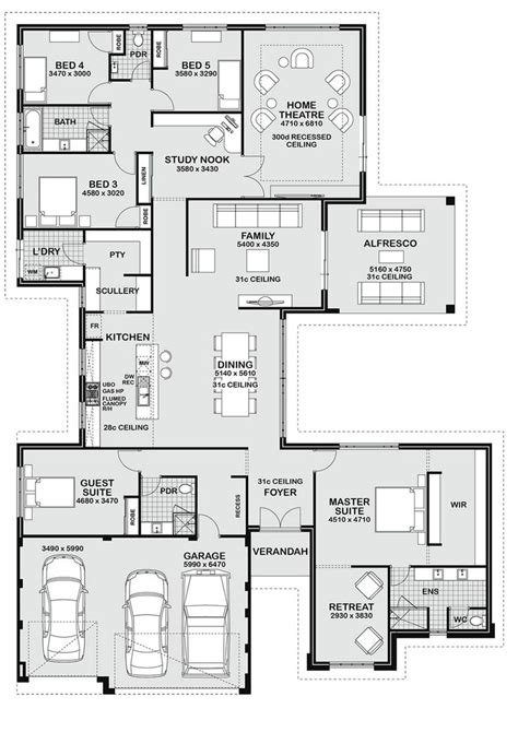 master bedroom suite layouts today i have this large 5 bedroom family home to show you