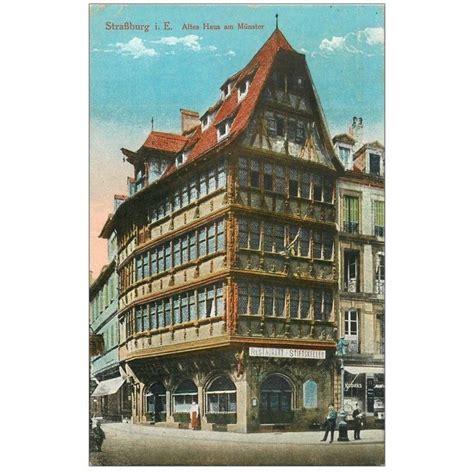 münster haus 67 strasbourg strassburg altes haus am m 252 nster 1919