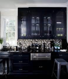 Black Cabinets Kitchen Robin Standefer Of And Williams Interior Designer S9000 N A High Gloss Black From