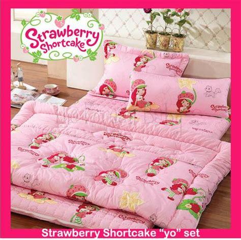 Strawberry Shortcake Crib Bedding Baby Korean American Baby Bedding