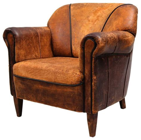 Eclectic Armchair by Brown Leather Club Armchair Eclectic Armchairs