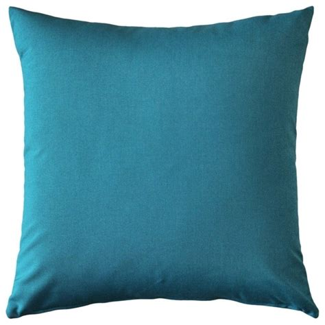 Sunbrella Outdoor Pillows And Cushions by Pillow Decor Sunbrella Peacock Outdoor Pillow 20 X 20