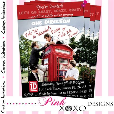 one direction printable thank you cards 45 best digital quot printable quot invites thank you cards