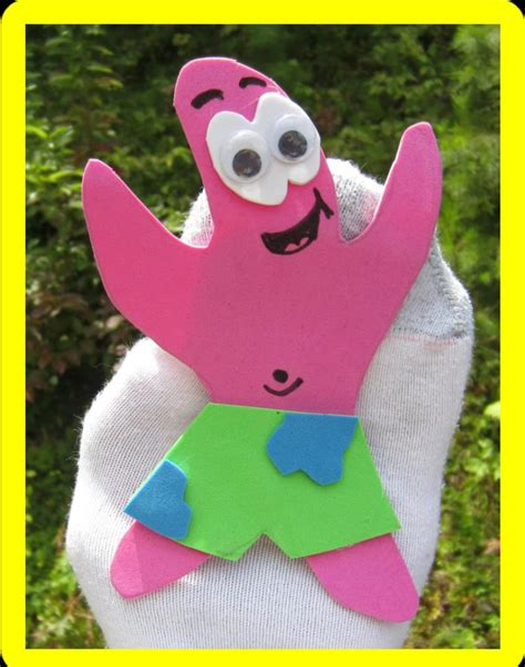 sock puppets crafts your child will be amazed by these spongebob crafts and diy ideas