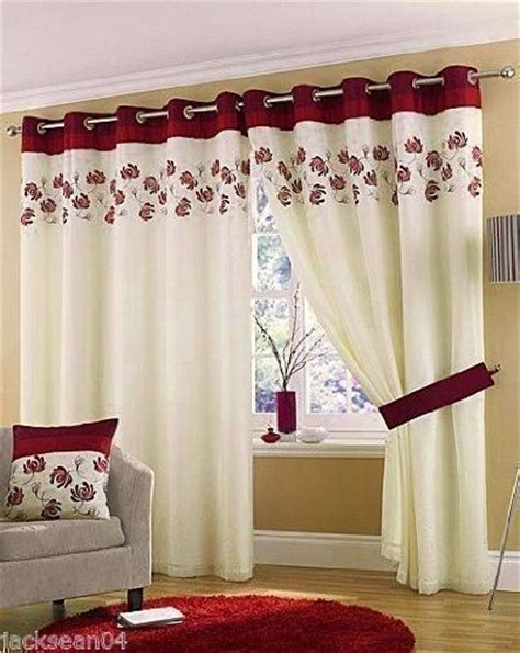 wine coloured eyelet curtains stunning cream wine red lined ring top eyelet voile
