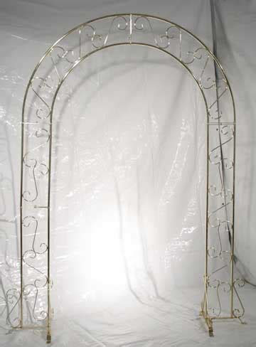 Wedding Arch Gold by White Gold Black Or Silver Metal Arch S