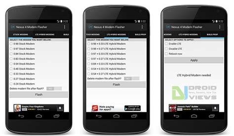 Modem Flash Ml 37 how to flash modems on nexus 4 and enable lte easily