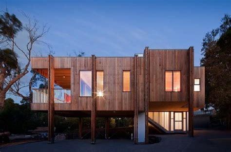 Wonderful Contemporary Post And Beam House Plans #5: Mornington-Beach-House-Clare-Cousins-Archi.jpg