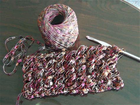 pattern for ribbon yarn patterns using ladder yarn scarf perfect i think this