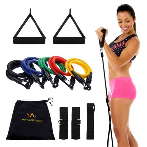 Set Overal Gf wacces 174 new set of 5 high quality covered resistance bands import it all