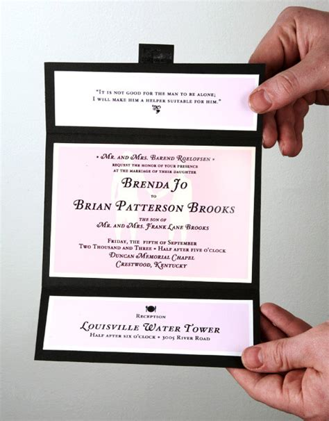 Simple Handmade Wedding Invitations - genori s may 2012