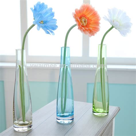 Tall Clear Glass Vases Yiwu Aimee Supplies Clear Glass Flower Pot Am Fp026 Buy