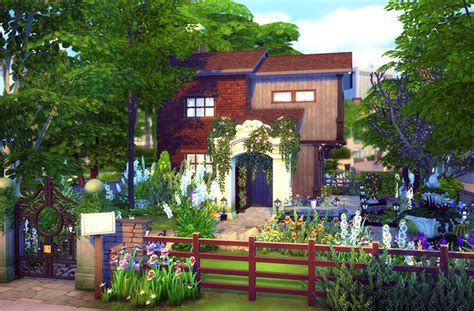Gardening Sims 4 Sims 4 Houses And Lots