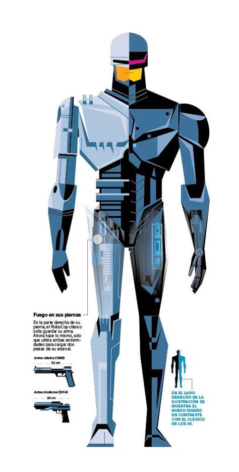 Robocop Graphic 7 robocop 2014 by marco hernandez via behance vectors