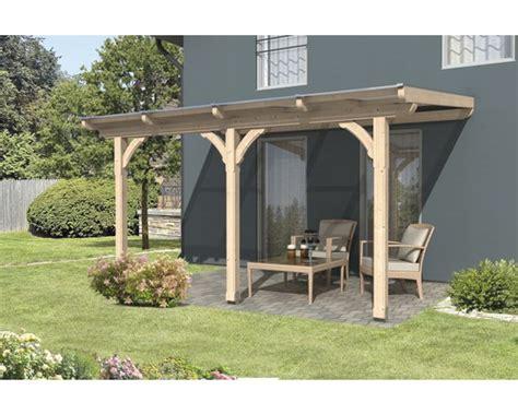 toiture pour terrasse skan holz rimini 434x300 cm sapin
