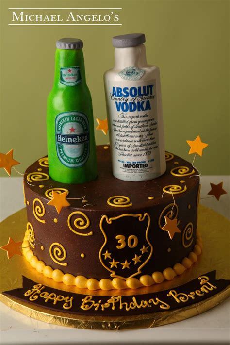 Cetakan Fondant Liquor Bottle 2 heineken absolut 27food this single tier cake is iced in buttercream then decorated