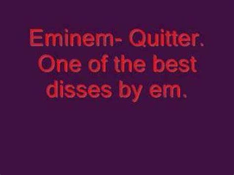 eminem quitter 洋楽歌詞検索のtube365 eminem quitterの歌詞