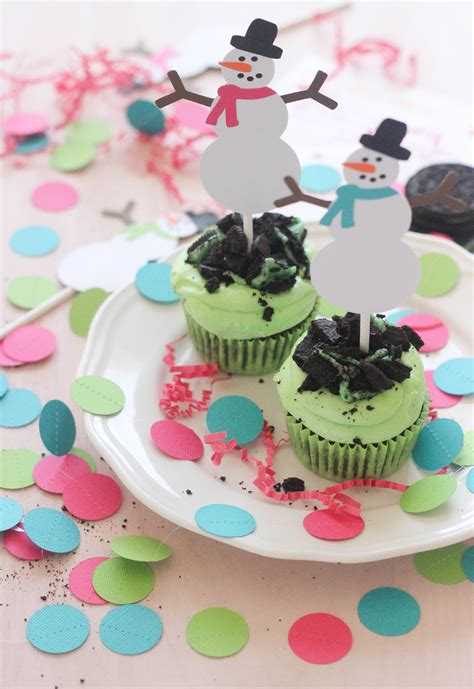 Mint Giveaways - mint oreo cupcakes for christmas etsy giveaway