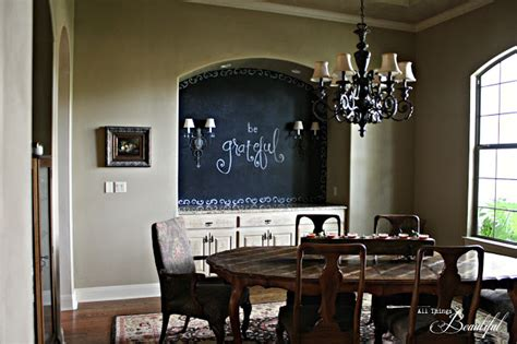 dining room chalkboard all things beautiful dining room chalkboard wall