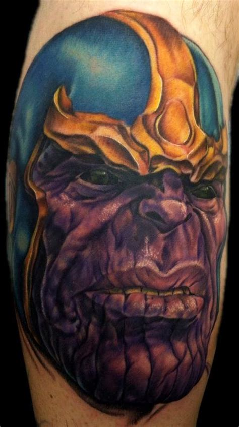 thanos tattoo tattoos thanos 72366