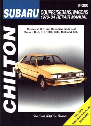 free service manuals online 1984 subaru brat regenerative braking subaru brat ff 1 1300 1400 1600 1800 repair manual 1970 1984