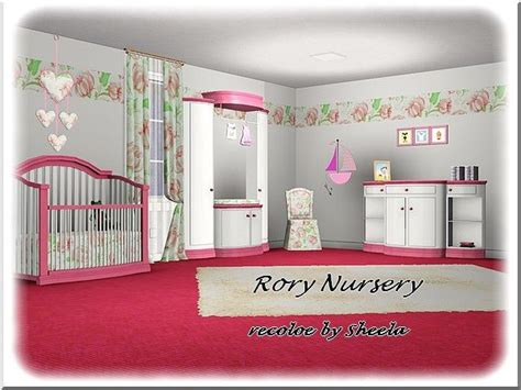 rory nursery recolor sheela sims downloads cc caboodle sims pinterest change sims nurseries