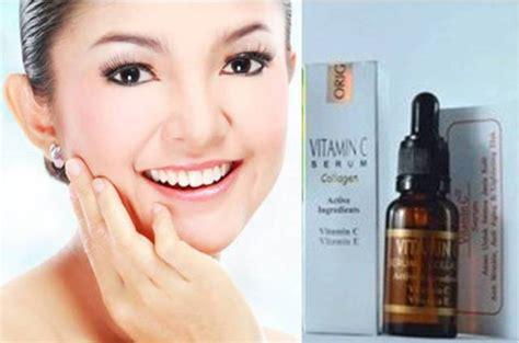 Serum Collagen Temulawak serum wajah vitamin c dan e