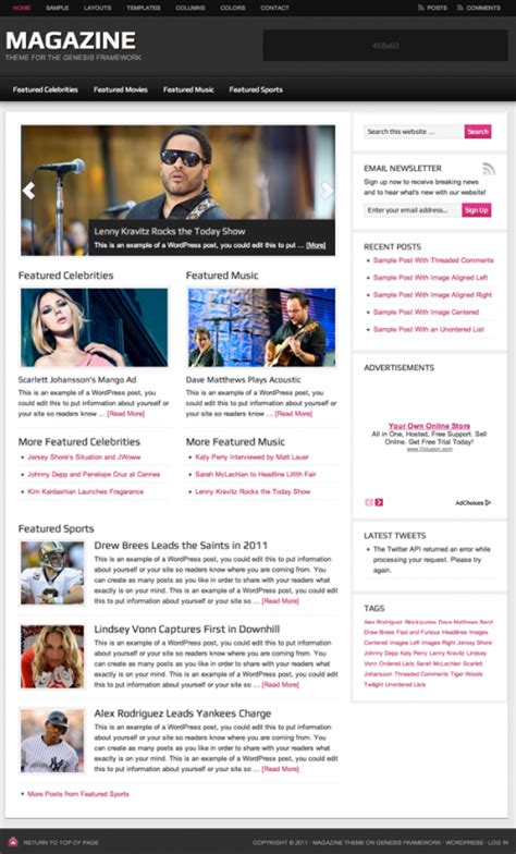 best wordpress themes newspapers 25 best wordpress themes for newspapers and magazines