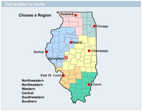 st interactive map information about surgical infections at illinois