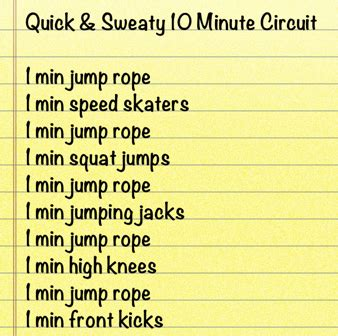 best 10 minute cardio workouts at home for burning