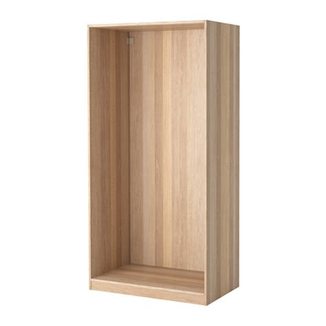 Wardrobe Frame System by Pax Wardrobe Frame White Stained Oak Effect