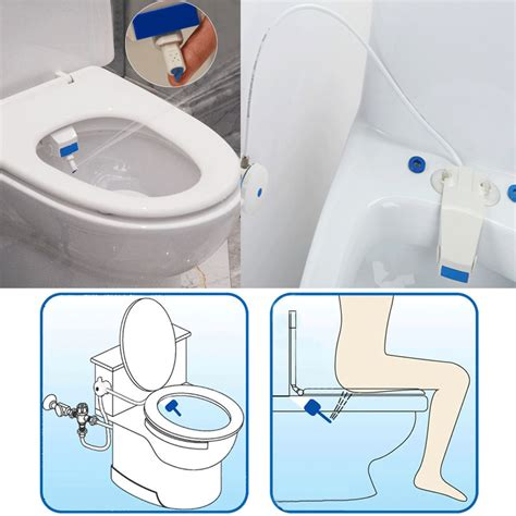 How To Install A Bidet Toilet heshe bathroom smart toilet seat bidet intelligent toilet flushing sanitary device alex nld