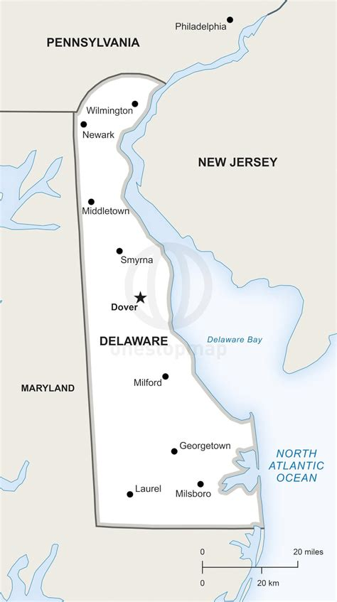 city map of delaware vector map of delaware political one stop map