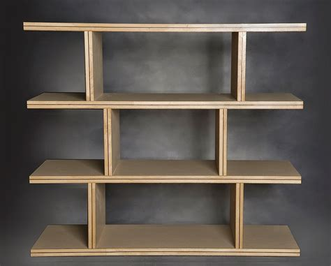 entertainment center made of torsion box composite plywood