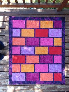 adventurous applique and quilting brick wall free motion