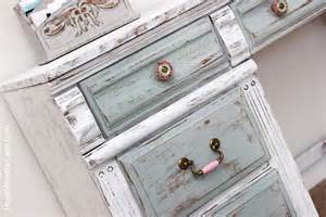 Distressed furniture with chalk paint
