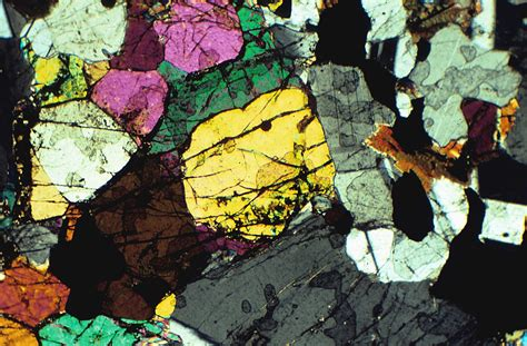 Pyroxene Thin Section by Sedimentary Rocks Real World Earth Science Ck 12 Foundation