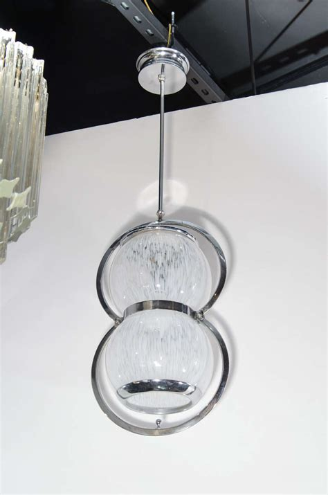 Ultra Modern Chandeliers Ultra Chic Mid Century Modern Blown Murano Glass Chandelier At 1stdibs