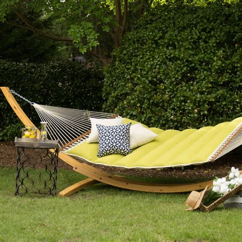 A Hammock Hatteras Hammocks Echo Limelight Pillowtop Hammock