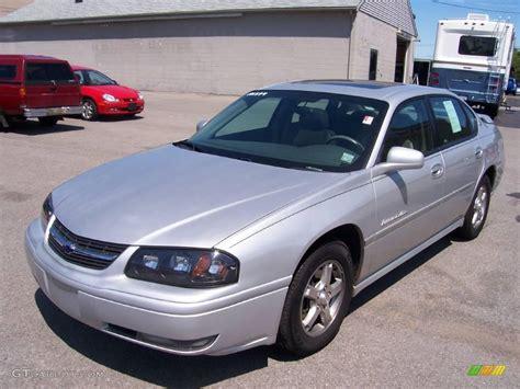impala silver 2004 galaxy silver metallic chevrolet impala ls 13741032
