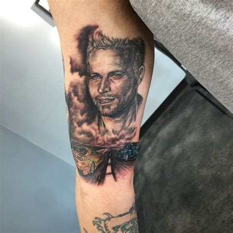 paul walker tattoos 24 best tattoos images on paul walker